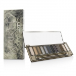 Naked Smoky Eyeshadow Palette (12x Eyeshadow, 1x Doubled Ended Smoky Smudger/Tapered Crease Brush)