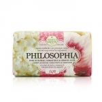 Philosophia Natural Soap - Lift - Cherry Blossom, Osmanthus & Geranium With Bach Flowers & Vitamin E