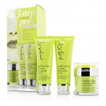 Super Acids Kit - 3 Step At Home Peel: Peel 50ml/1.7oz + Mask 75ml/2.5oz + Scrub 75ml/2.5oz