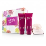 Delicious Cotton Candy Coffret: Eau De Toilette Spray 100ml/3.3oz + Body Lotion 100ml/3.4oz + Shower Gel 100ml/3.4oz
