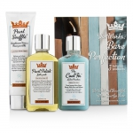 Shaveworks Bare Perfection Kit: Shave Cream 150g + Targeted Gel Lotion 156ml + Body Oil 156ml