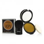 HDPV Anti-Shine Sunless Tan Kit: HDPV Anti-Shine Powder - T (Tan) 10g + Deluxe Kabuki Brush 1pc