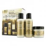 Monoi Repairing Collection 3-Piece Starter Kit: Shampoo 60ml + Conditioner 60ml + Hair Mask 60ml