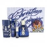 Christian Audigier Coffret: Eau De Toilette Spray 100ml/3.4oz + Hair & Body Wash 90ml/3oz + Deodorant Stick 78g/2.75oz + Eau De Toilette Spray 7.5ml/0.25oz 515090