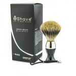 Short Brushes Nickel Pastic Handle - # Black