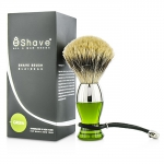 Short Brushes Nickel Pastic Handle - # Green