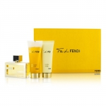 Fan Di Fendi Coffret: Eau De Parfum Spray 50ml/1.7oz + Body Lotion 75ml/2.5oz + Shower Gel 75ml/2.5oz