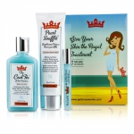 Shaveworks Skin Royalty Signature Kit: Shave Cream 150g + Targeted Gel Lotion 156ml + Post-Wax Rollerball 10ml