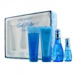 Cool Water Coffret: Eau De Toilette Spray 50ml/1.7oz + Eau De Toilette Spray 15ml/0.5oz + Body Lotion 75ml/2.5oz + Shower Gel 75ml/2.5oz