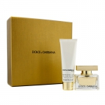 The One Coffret: Eau De Parfum Spray 30ml/1oz + Body Lotion 50ml/1.6oz (Champagne Gold Box)