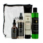Four Step Hair & Scalp Treatment Set - Paraben Free (For All Hair Types)