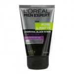 Men Expert Pure & Matte Charcoal Black Scrub