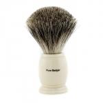 Pure Badger Shaving Brush - Ivory