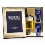 Boucheron Coffret: Eau De Parfum Spray 100ml/3.3oz + 2x Soothing After Shave Balm 50ml/1.6oz