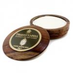 Luxury Shaving Soap In Wooden Bowl