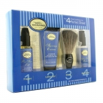Starter Kit - Lavender: Pre Shave Oil + Shaving Cream + Brush + After Shave Balm
