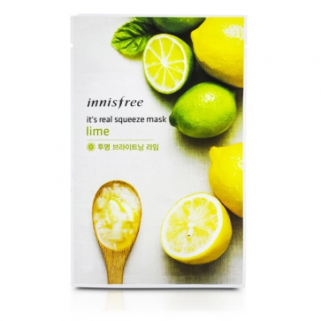 Its Real Squeeze Mask - Lime