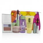 Travel Set: Make Up Remover+DDML+Moisture Surge Intense+Eye Shadow Duo & Blush+Mascara+Lipstick+Bag