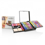 MakeUp Kit Deluxe G2363 (66x Eyeshadow, 5x Blusher, 2x Pressed Powder, 4x Lipgloss, 3x Applicator)