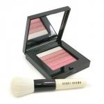 Rose Shimmer Brick Set: Rose Shimmer Brick Compact + Mini Face Blender Brush (Limited Edition)