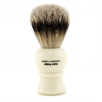 Regency Super Badger Hair Shave Brush - # Ivory