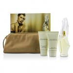 Cashmere Mist Coffret: Eau De Parfum Spray 100ml/3.4oz + Body Cleansing Lotion 75ml/2.5oz + Body Creme 75ml/2.5oz + Bag