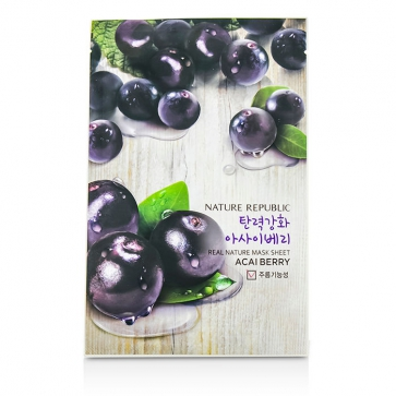 Real Nature Mask Sheet - Acai Berry
