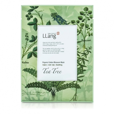 Organic Cotton Blossom Mask - Tea Tree (Soothing)