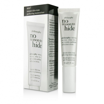 No Reason To Hide Instant Skin-tone Perfecting Moisturizer SPF 20 - Light