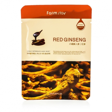 Visible Difference Mask Sheet - Red Ginseng