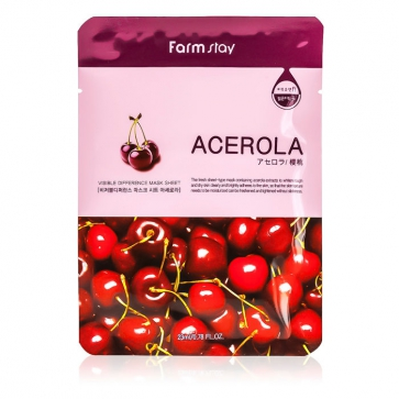 Visible Difference Mask Sheet - Acerola