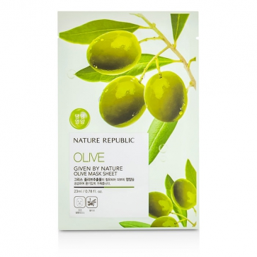 Given By Nature Mask Sheet - Olive