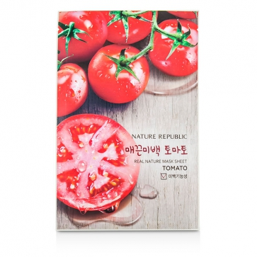 Real Nature Mask Sheet - Tomato