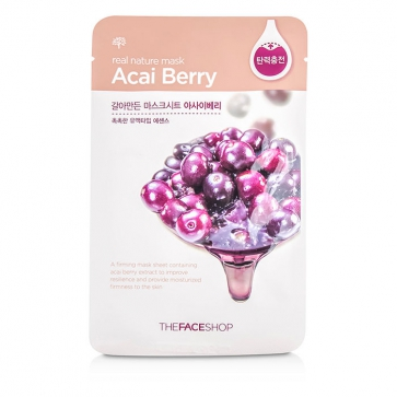 Real Nature Mask - Acai Berry (Firming)