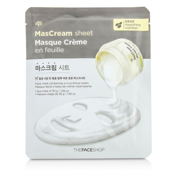 Mascream Sheet - Intense Nourishing Mask