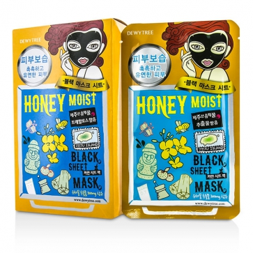 Black Sheet Mask - Honey Moist