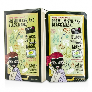 Black Sheet Mask - Premium Syn-Ake