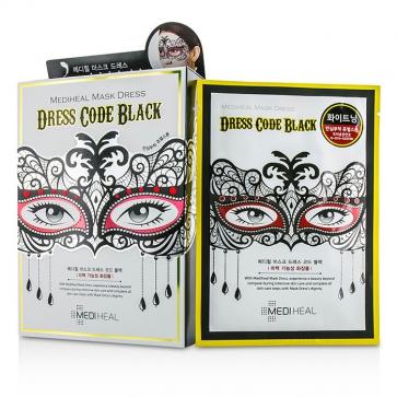 Dress Code Mask - Black (Jewel Stone - Whitening Care)